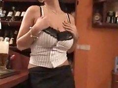 Club Dominno Behing The Bar