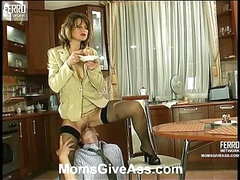 Christie&Richard anal mamma on movie scene