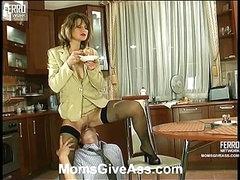 Christie&Richard anal mamma on movie scene