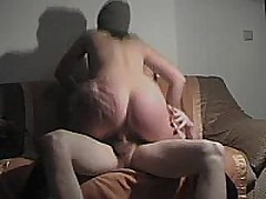 This german fuck floozy rides cock, sucks dick, and receives slammed doggystyle and receives a cum blast on her ass!!