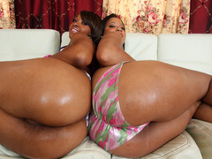Natasha and Imani are stacked! They got booty for days. Natasha has some large love melons that can squeeze your cock untill it goes ooze trickle drip. Imani the anal female-dominant will pound your cock with her booty hole untill your shit is black and blue! Time to some out your cock cause it's about to go down......