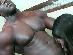 This hot black honey loves her man to be big and black. See this...