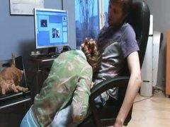 hardcore havingsex in my office