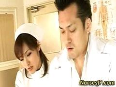Hawt oriental nurse doxy